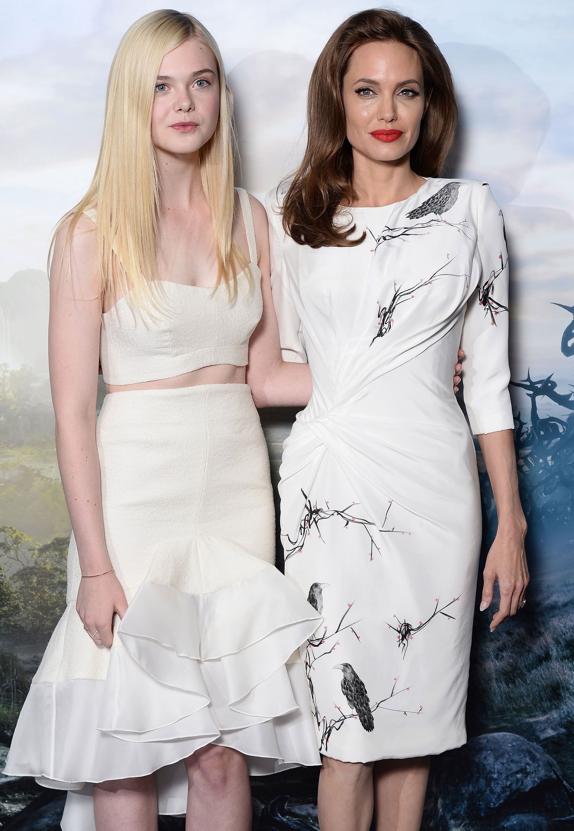 Elle Fanning Says She Became Very Close To Angelina Jolie