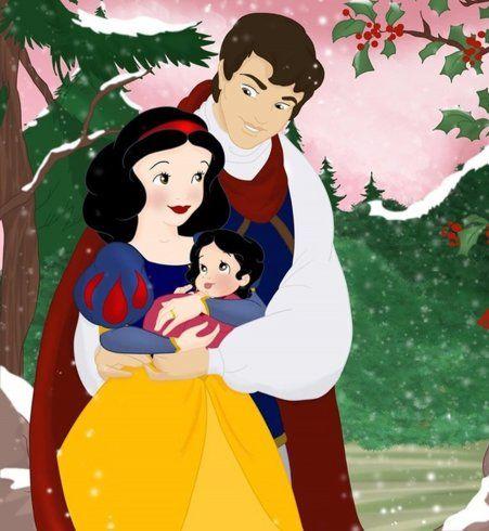 Les princesses disney ces h ro nes de notre enfance personnages disney pinterest - Blanche neige et son prince ...