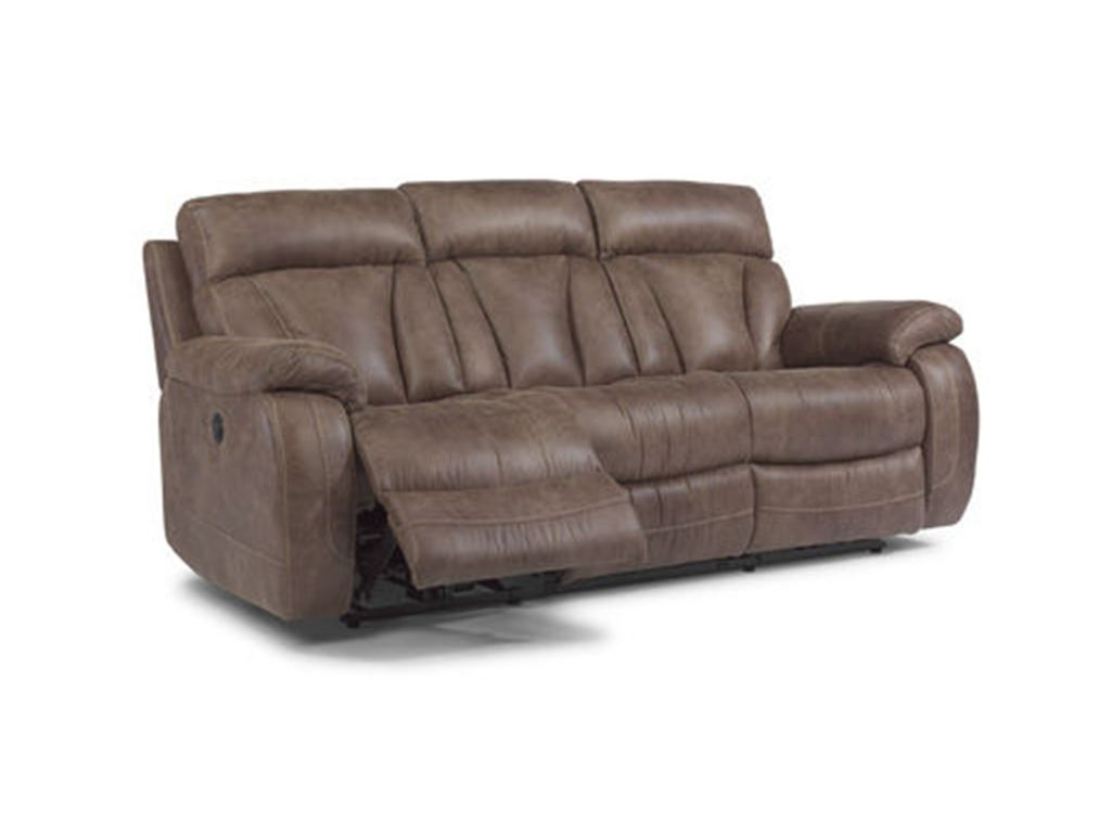 Flexsteel Living Room Power Reclining Sofa 1208 62p Wright S