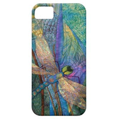 Colorful Dragonflies iPhone 5 Cases