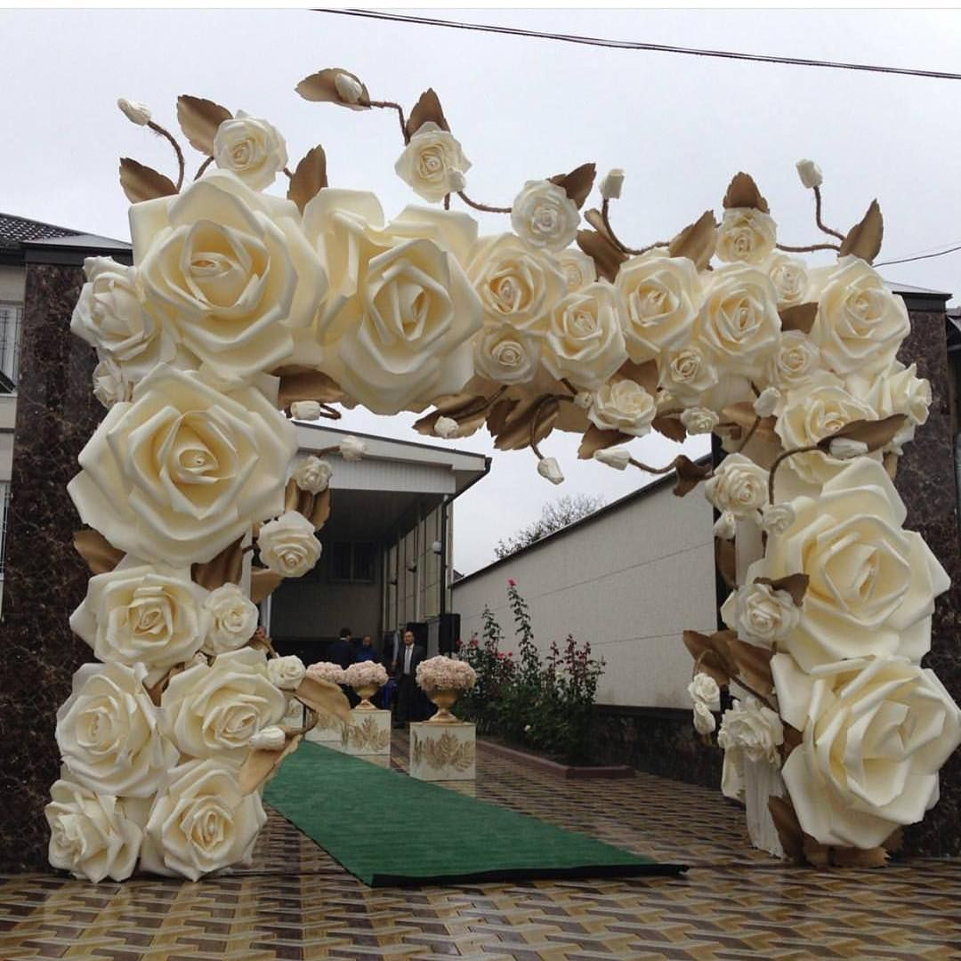 Giant Paper Flowers Wedding: Giant Flowers For Wedding And Special Events Decor ️