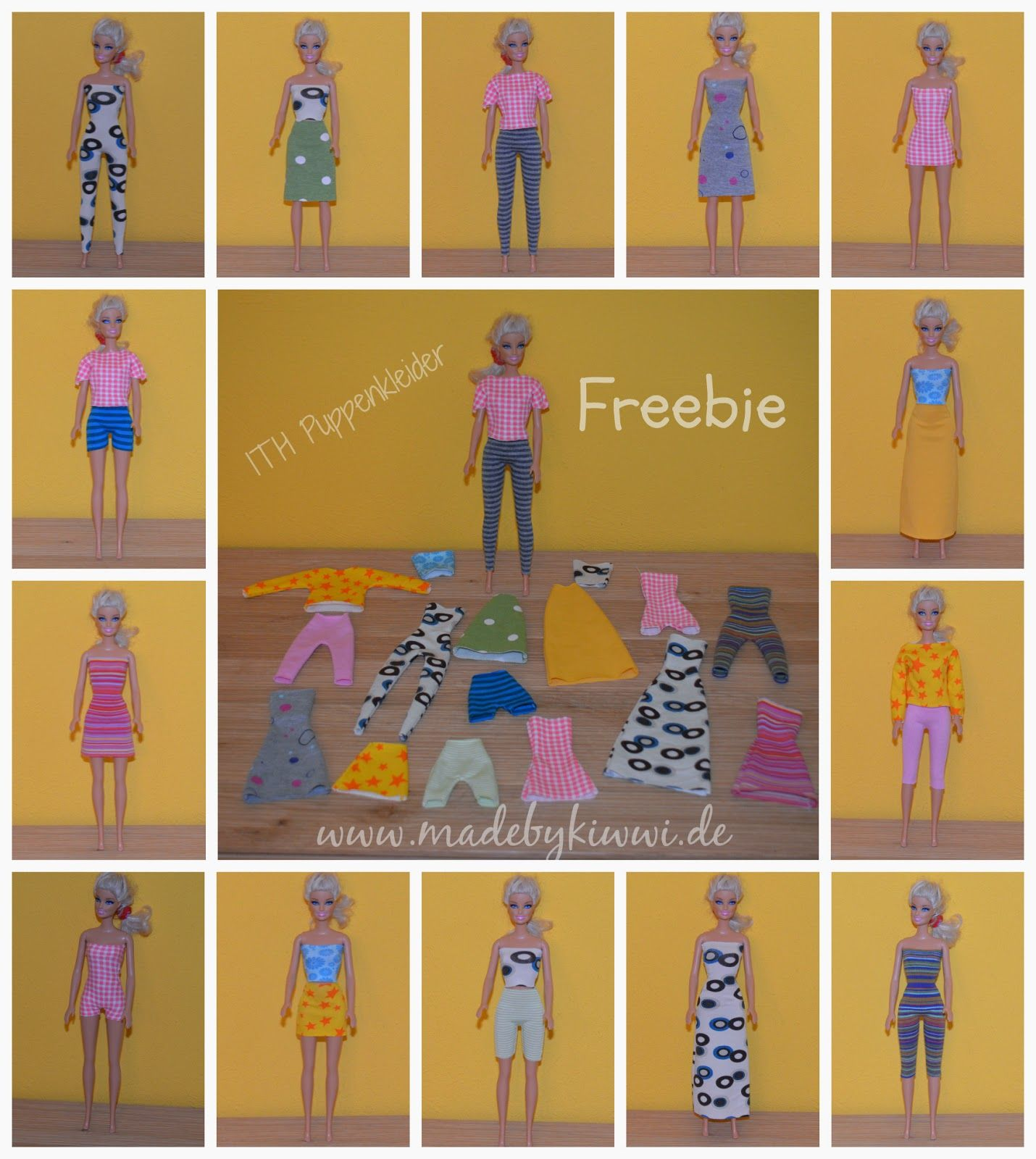 Free ITH (in the hoop) Barbie Clothes | Barbie - patterns ...