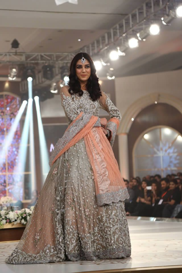 41e029d8a647 Bridal Couture Week 2015 Maria B Latest Collection Images