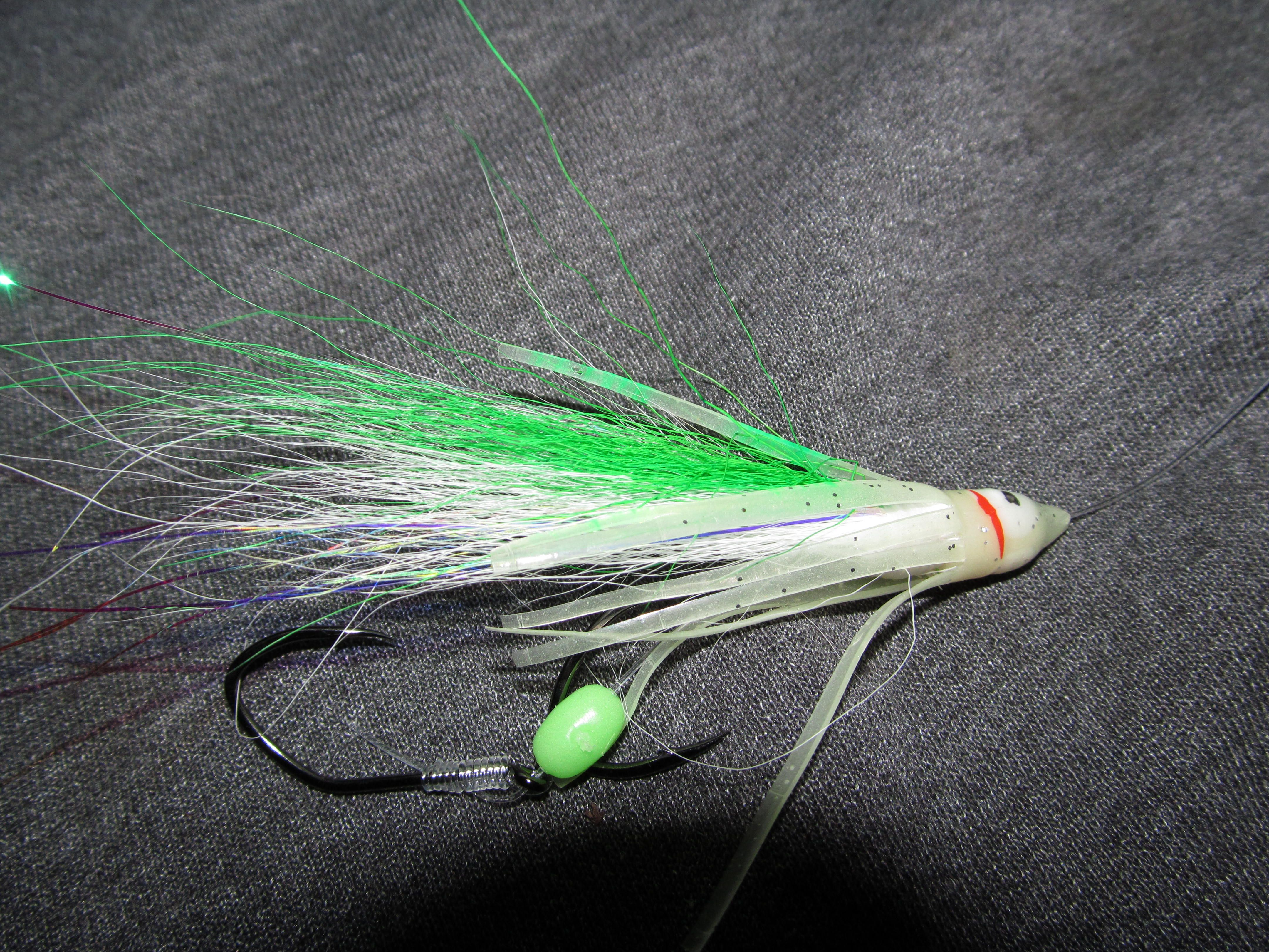 Shamrock mojo for chinook and coho salmon wannafish a for Salmon fishing lures