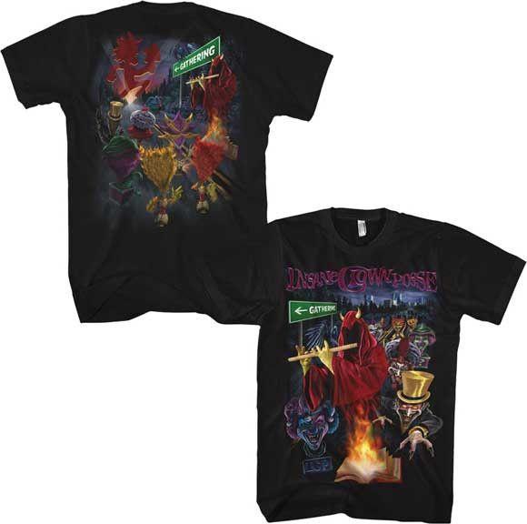 T-shirt Insane Clown Posse
