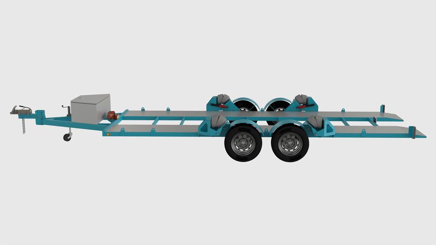 Air Bag Car Trailer Plans em 2020 Projetos, Carretinha