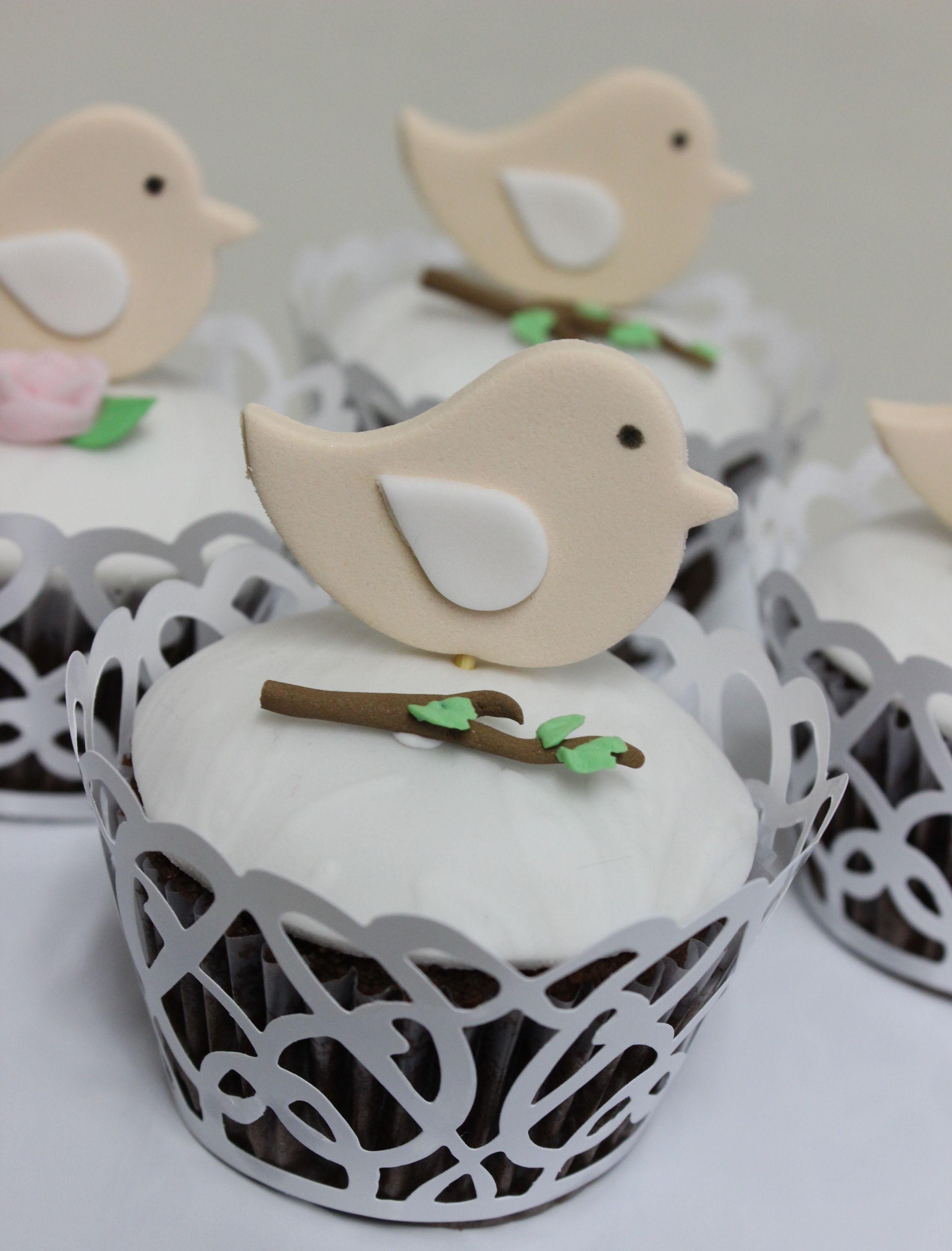 Wedding Cupcakes  Violeta Glace