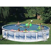 Quantum 15 X 52 Round Pool Package Above Ground Swimming Pools Round Above Ground Pool Pool