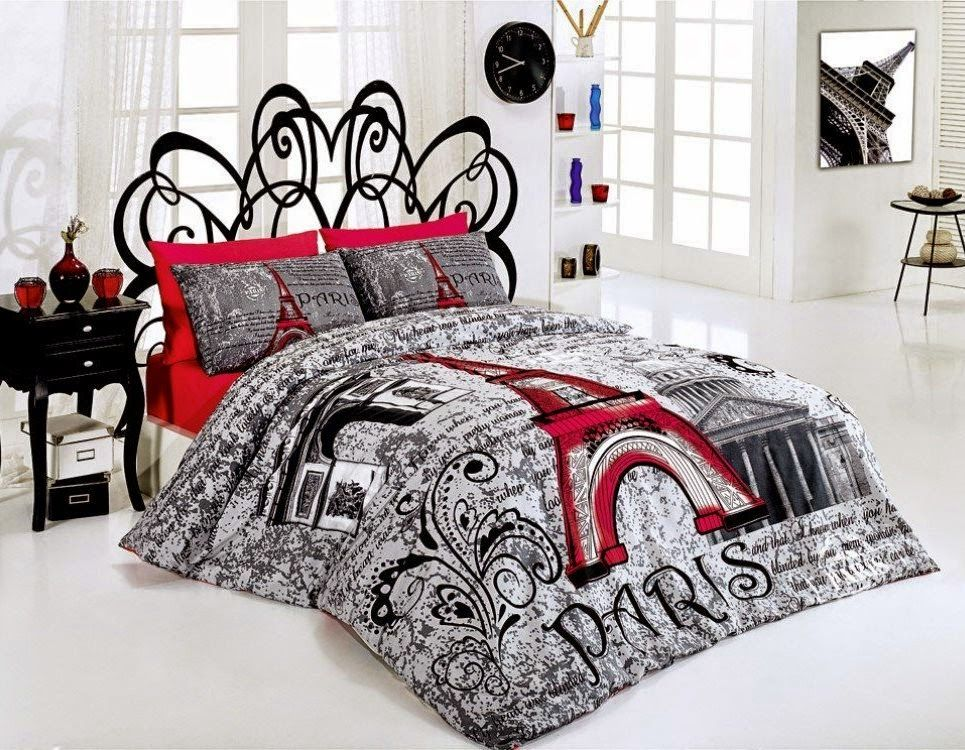 Superb Bedroom Decor Ideas And Designs: Top Ten Paris Themed Bedding Sets