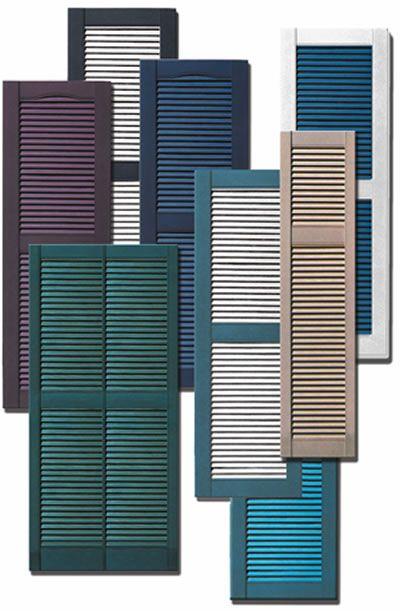 window shutters exterior external shutters plastic decorative shutters - Decorative Shutters