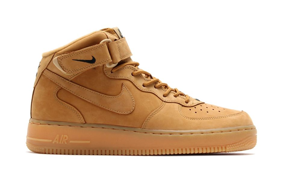 "save off b2438 a635c Nike Air Force 1 Mid ""Wheat""   Hypebeast"