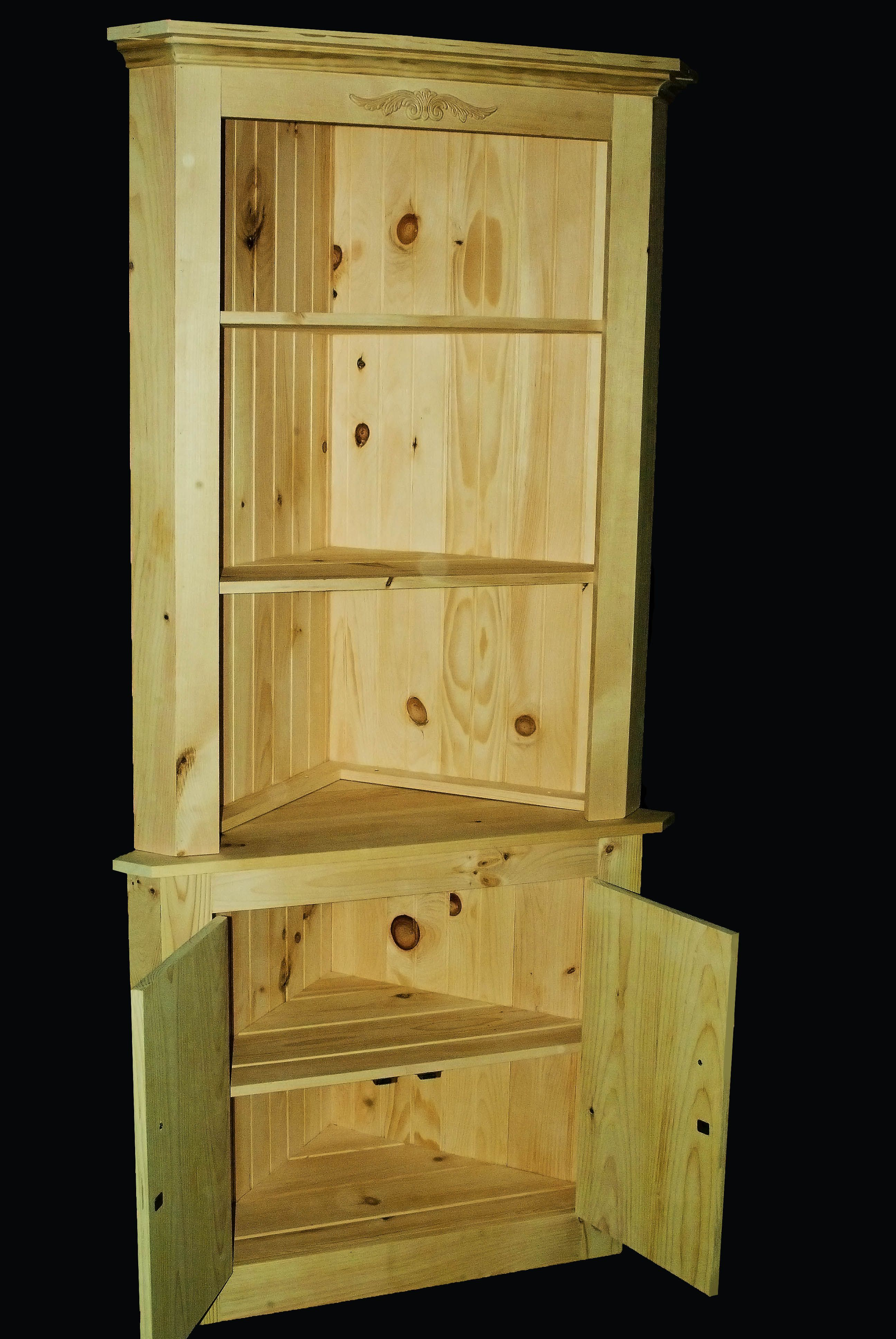 A Corner Cabinet I Built For A Christmas Present Diy Furniture Furniture Projects Furniture Diy