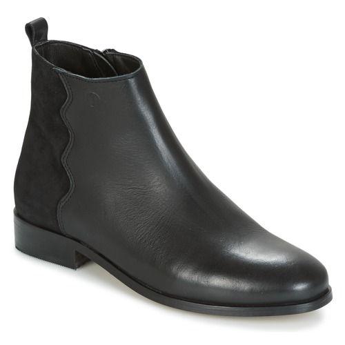 Chaussures Femme Boots Betty London HELOI Noir