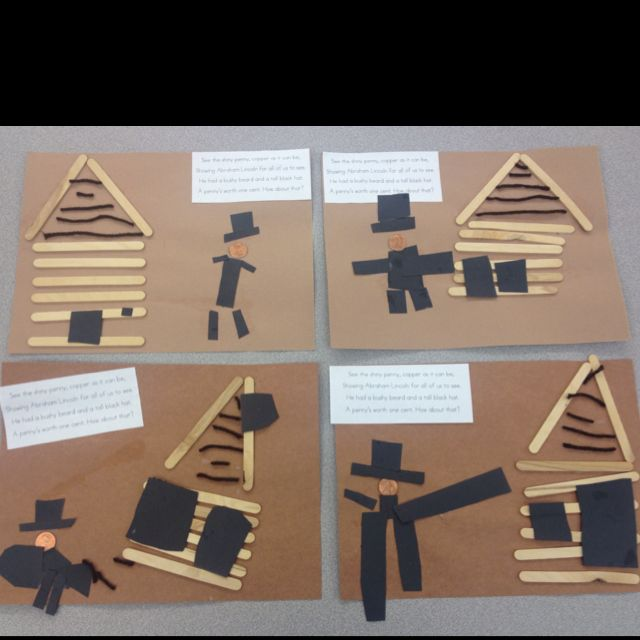 Aren T These The Cutest An Abe Lincoln Craft Idea I Borrowed