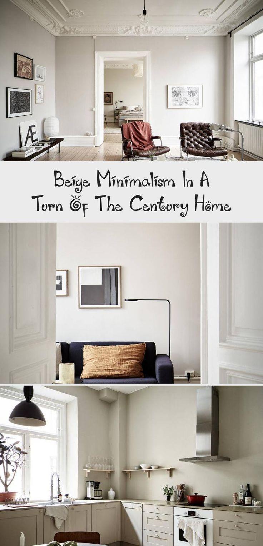 #interiordesignLivingroom  #interiordesignFurniture  #interiordesignInteriorismo  #interiordesignIdeen  #interiordesignIdeas #minimalism #turn  Beige minimalism in a turn of the century home - COCO LAPINE DESIGNCOCO LAPINE DESIGN