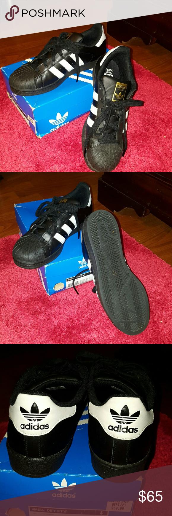 Adidas originali superstar in bianco e nero oro la posh sceglie w