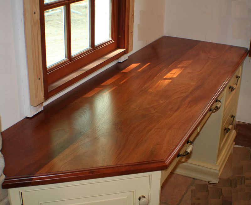 Information With Photography About Custom Genuine Mahogany Wood  Countertops, Butcher Block Countertops, Wood Bar Tops.
