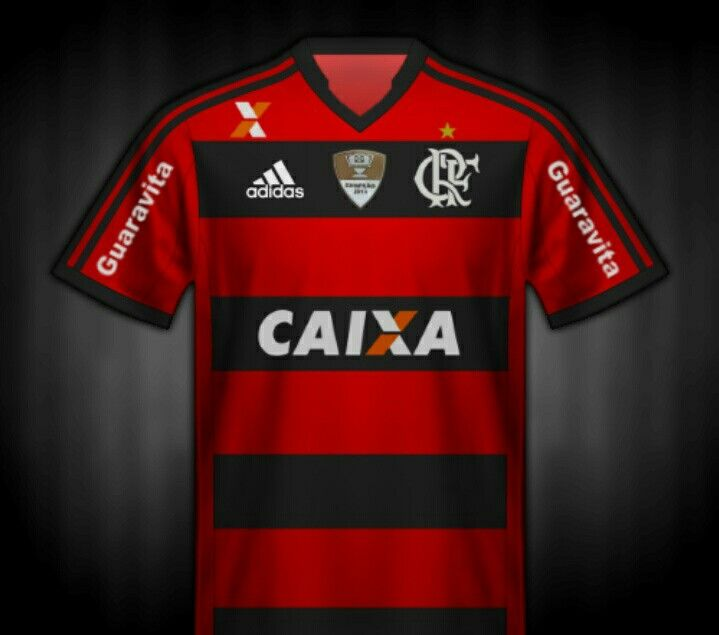 CR Flamengo of Brazil home shirt for 2014.  0ba1831e1