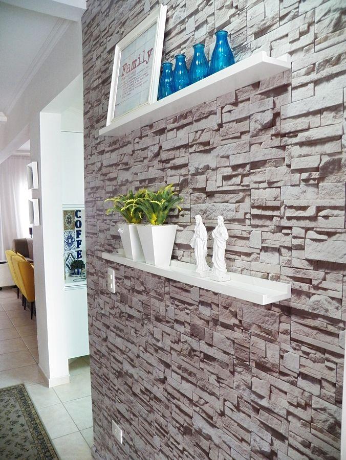 4852e8450 Se existe uma forma simples e descomplicada de decorar a casa de forma  rápida é usando adesivos de parede ou papel de parede.