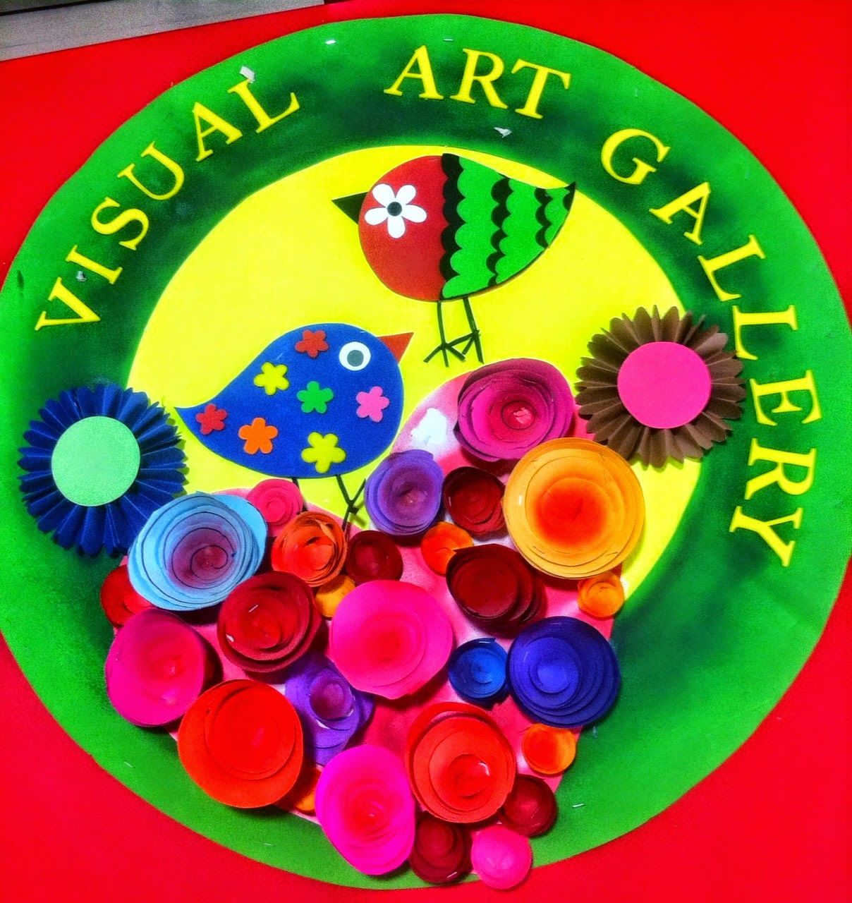 Art craft ideas and bulletin boards for elementary schools vegetable - Art Craft Ideas And Bulletin Boards For Elementary Schools Handmade Paper Flowers