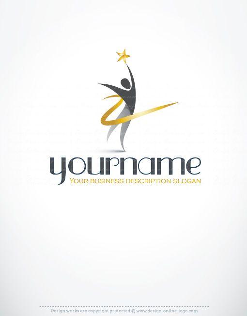 Exclusive design human star logo free business card free business exclusive design human star logo free business card reheart Image collections