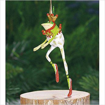 Mini Dancing Frog Ornament