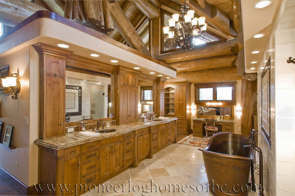 Bedrooms And Bathrooms | for the home stuff - bathrooms | Pinterest on log home bedrooms, rustic cabin bathrooms, craftsman style master bathrooms, exotic master bathrooms, french country master bathrooms, small cabin bathrooms, million dollar master bathrooms, small rustic bathrooms, sexy master bathrooms, cottage master bathrooms, farmhouse master bathrooms, log home living rooms, log home bathroom designs, modern master bathrooms, cape cod master bathrooms, southern living master bathrooms, beautiful master bathrooms, great master bathrooms, luxury master bathrooms, mansion master bathrooms,