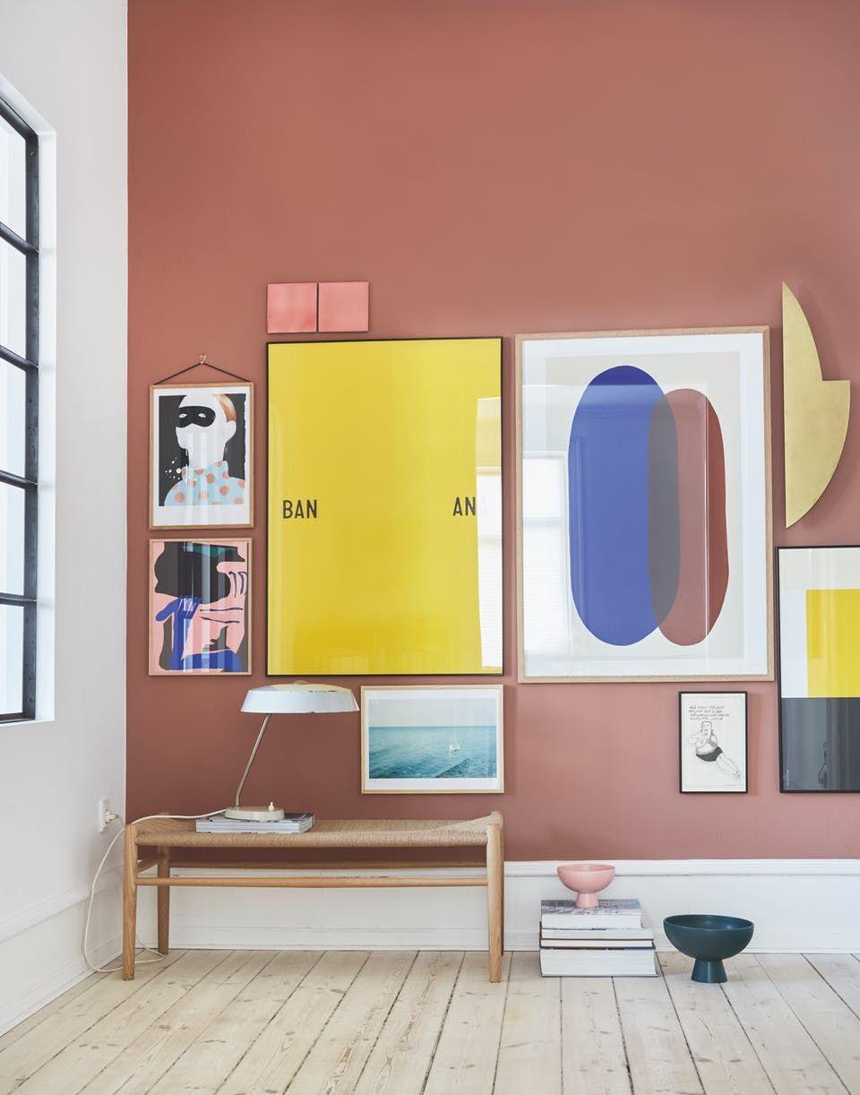 Sådan får du vægge med wauw-effekt | Bananas, Interiors and Walls