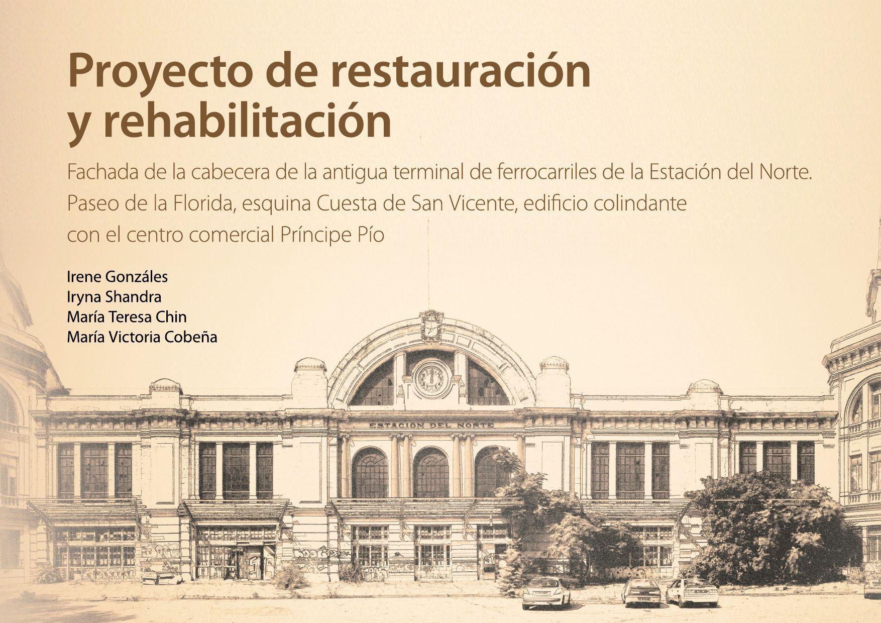 PROYECTO DE RESTAURACION PRINCIPE PIO PROYECTO RESTAURACION PRINCIPE PIO