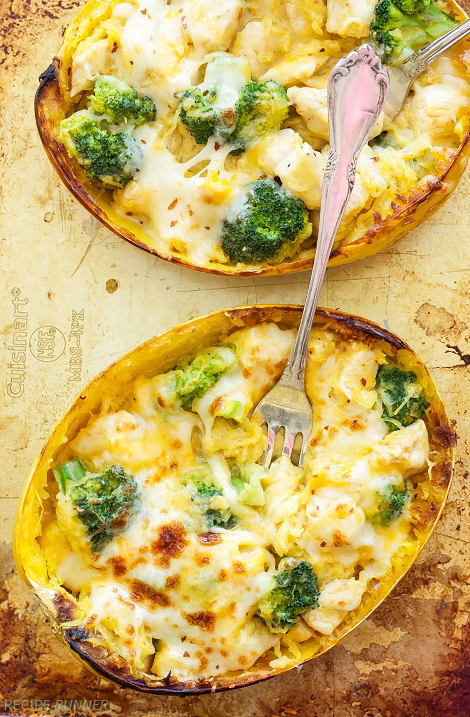The Best Spaghetti Squash Recipes That Won't Make You Miss Pasta #stuffedspaghettisquash