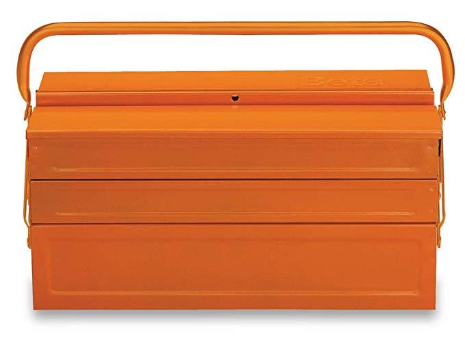 C20 Five Section Cantilever Steel Tool Box Orange Empty Amazon Com Cantilever Tool Box Sheet Metal Tools Metal Tool Box
