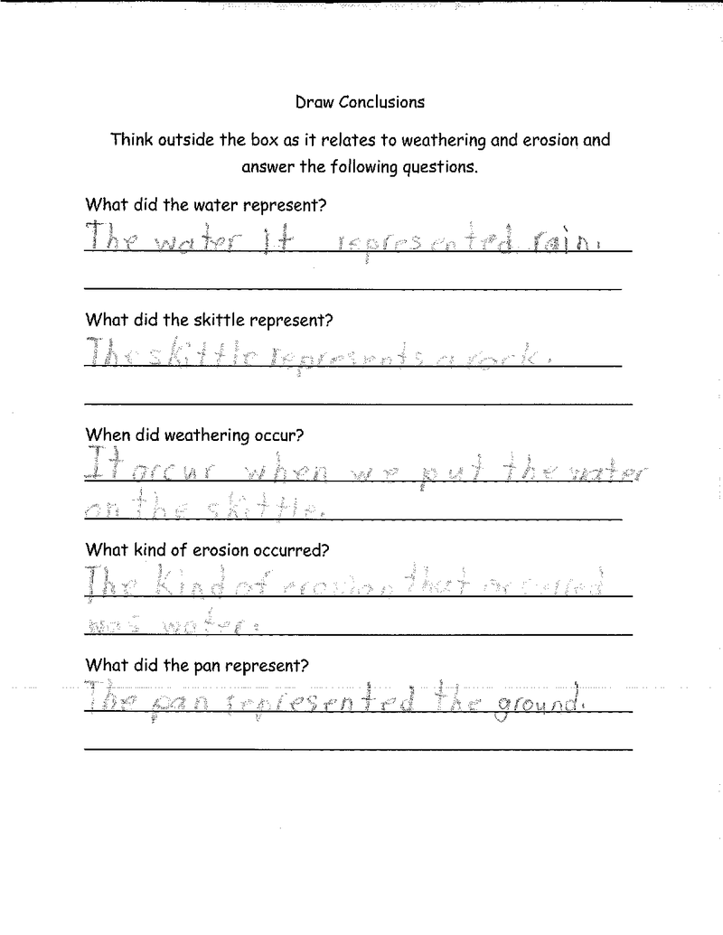 medium resolution of Skittles- Lab Sheet-Student Work   Student work
