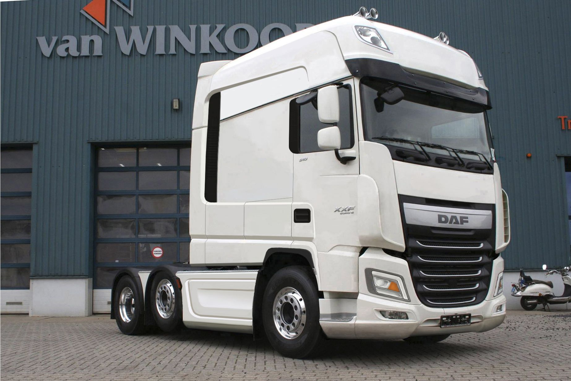 Truck Daf Xxf Superspacecab Restyling 2018 Truck Pinterest