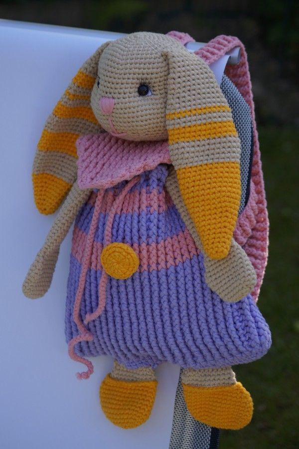 Dieser Hasen-Rucksack ist so süß, auf den kannst Du nicht verzichten ...