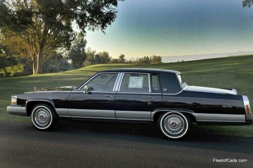 1990-92 Cadillac Brougham ( formerly known as the Fleetwood Brougham