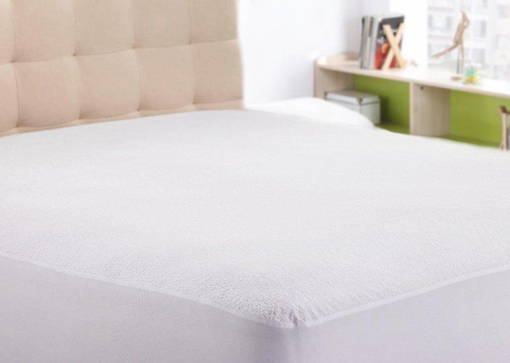Luxury Terry Cotton Waterproof Mattress Protector Cal King 16 Inch