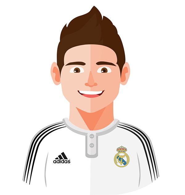 James Rodriguez Real Madrid Real Madrid Pinterest