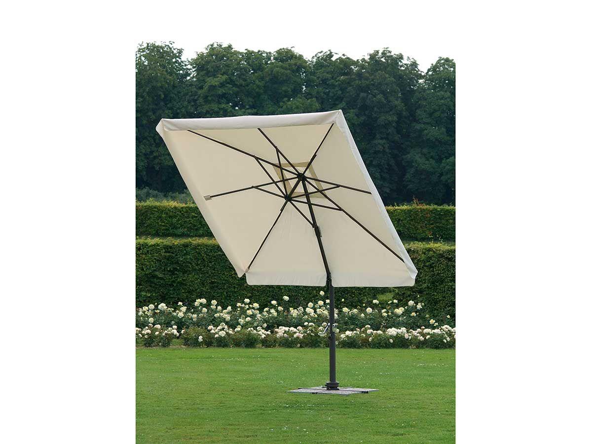 Stern Sonnenschirm Ampelschirm Aluminium 260x260 Cm Kaufen Im Borono Online Shop Sonnenschirm Ampelschirm Sonnenschirm Ampelschirm