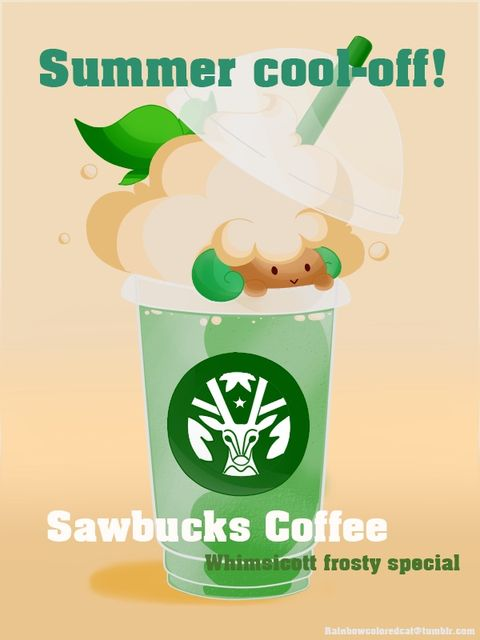 Whimsicott Frosty Special from Sawsbuck Coffee