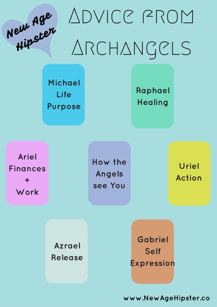 Advice From Archangels Angel Spread x | Tarot Spreads