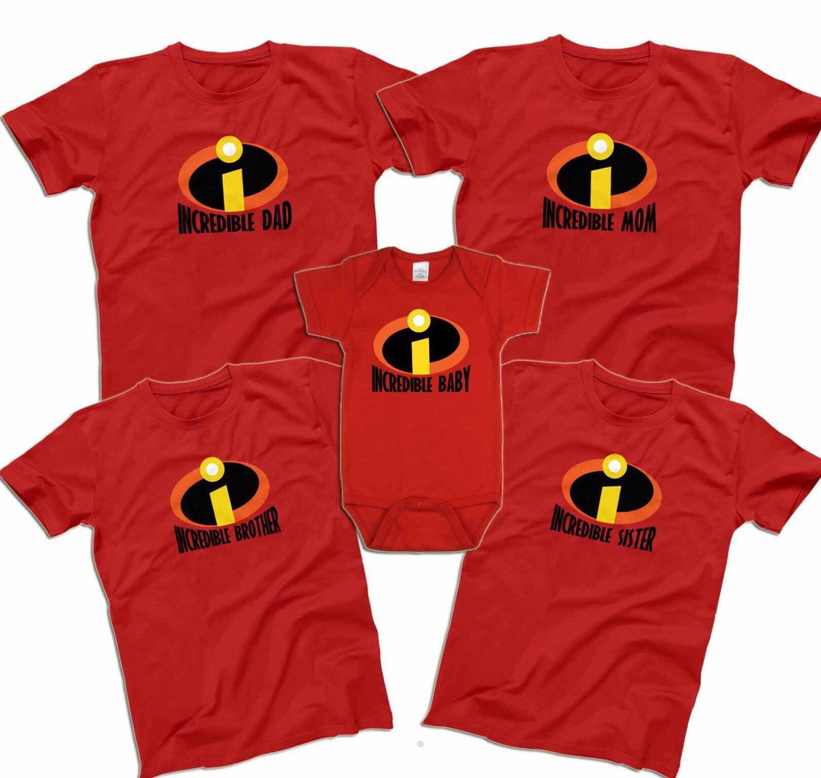 5f66437b4 Excited to share the latest addition to my #etsy shop: Disney Incredibles  Family Shirts #clothing #shirt #incredibles #familyvacation  #disneyfamilyshirts ...