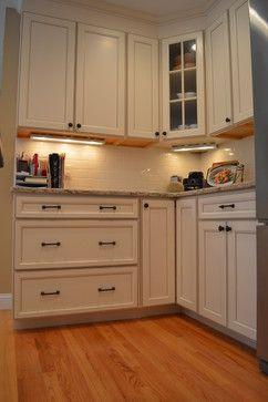 Antique White Kitchen Traditional Kitchen: Aristokraft Durham In Toasted  Antique Color