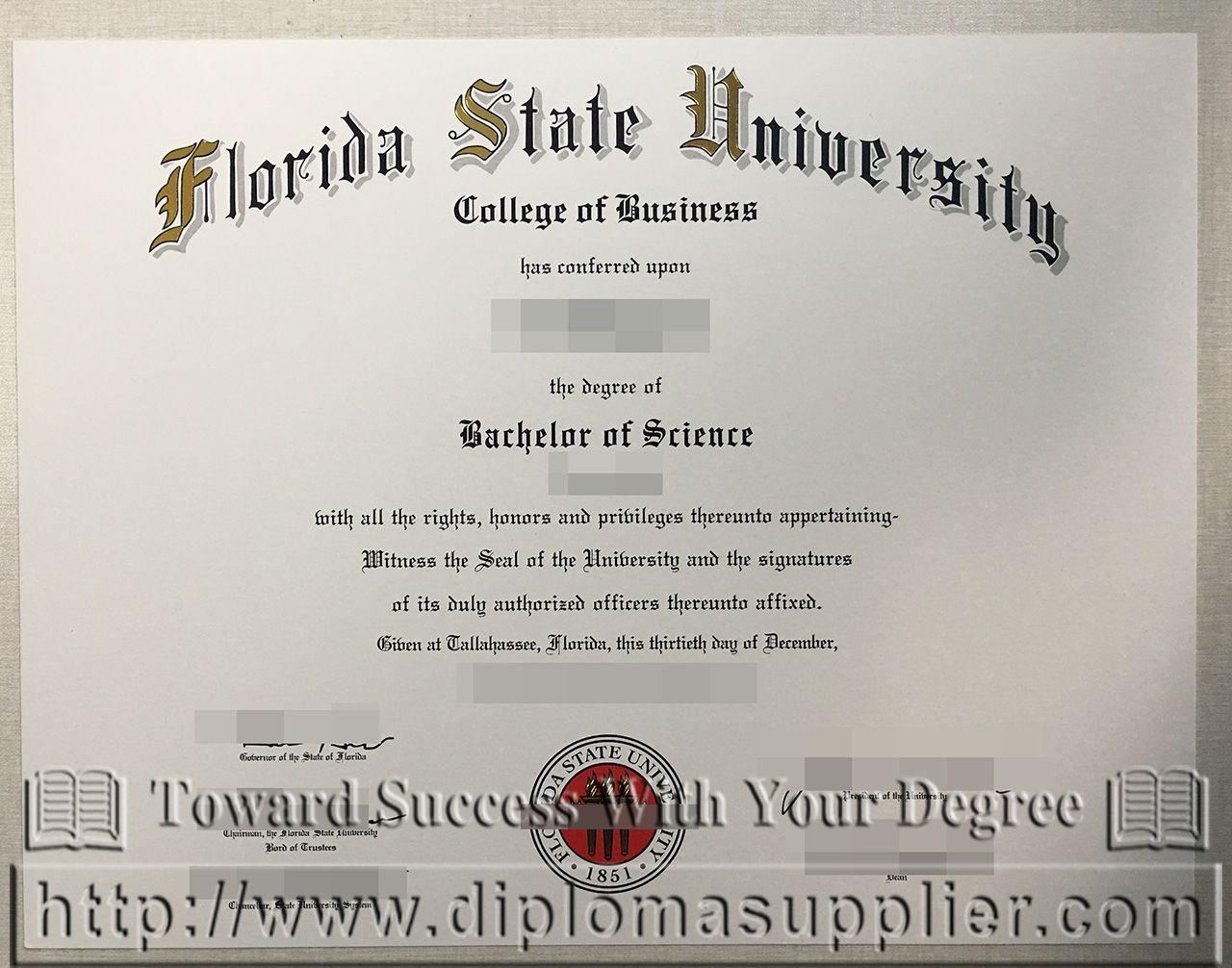 How To Buy A Fake Fsu Degree Buy Fsu Fake Diploma Buy A Bachelor