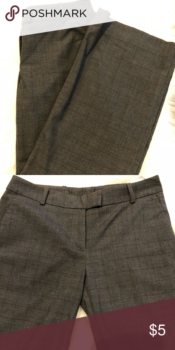 0cba5fbf7f5 H   M Slacks Polyester Rayon   Spandex Material Inseam is 29 inches Overall  Length is 38 inches Color Brown Size 6  9479048 H M Pants Wide Leg