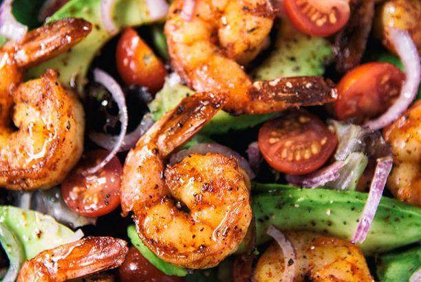 Taco Lime Shrimp Salad (Paleo Diet Lifestyle ) | easy ...