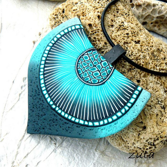 Pendant by Verundela Love the color!!!