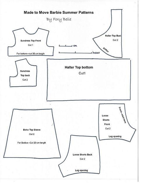 MTM Barbie Summer Patterns JPEG | Summer patterns and Patterns