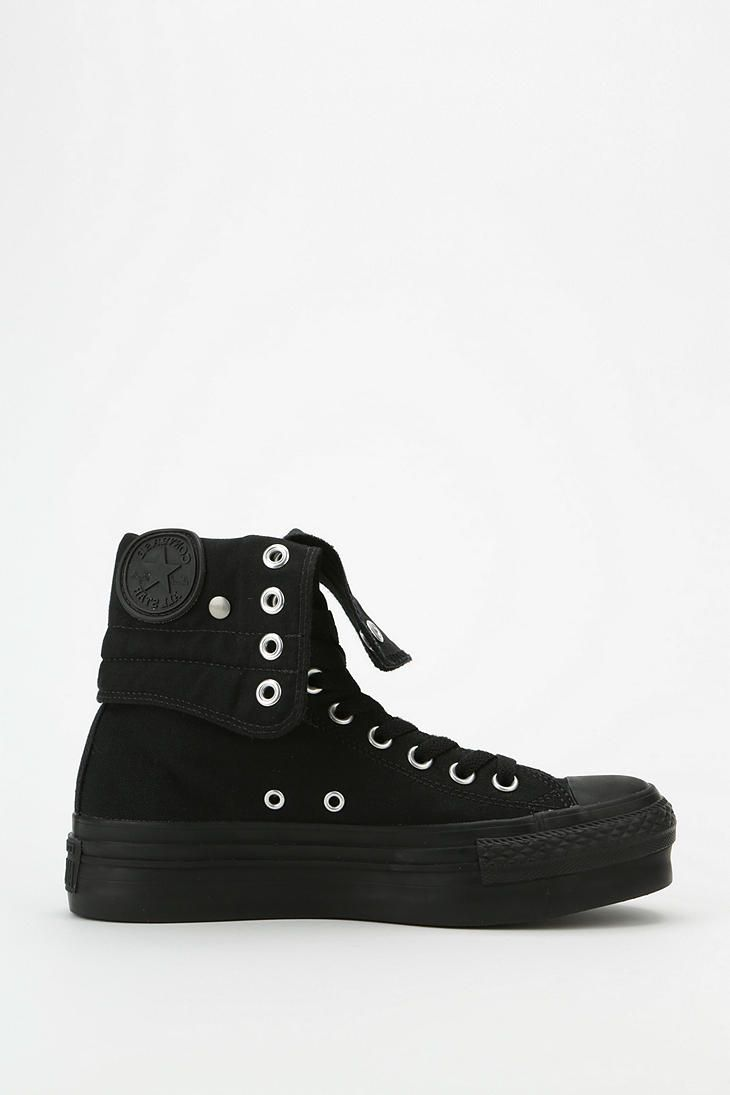 150d59a1f623a0 Converse Chuck Taylor All Star Fold-Over Women s High-Top Platform-Sneaker