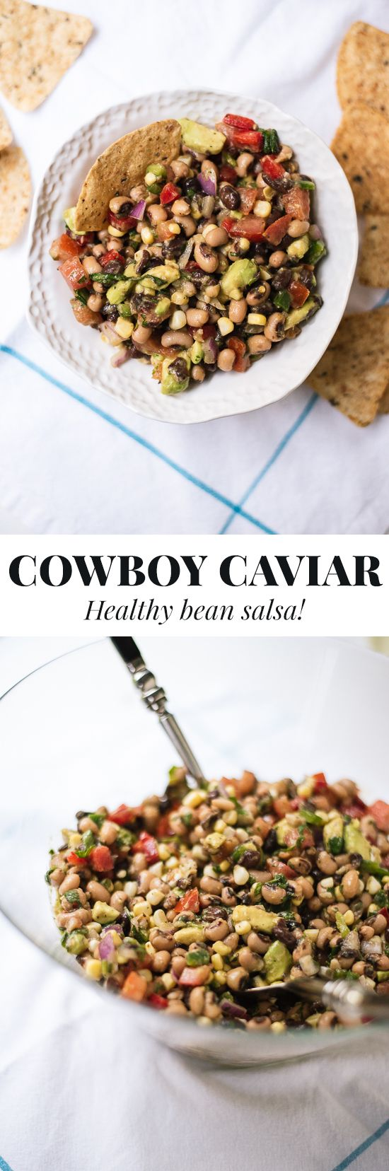 Healthy Cowboy Caviar Recipe - Cookie and Kate