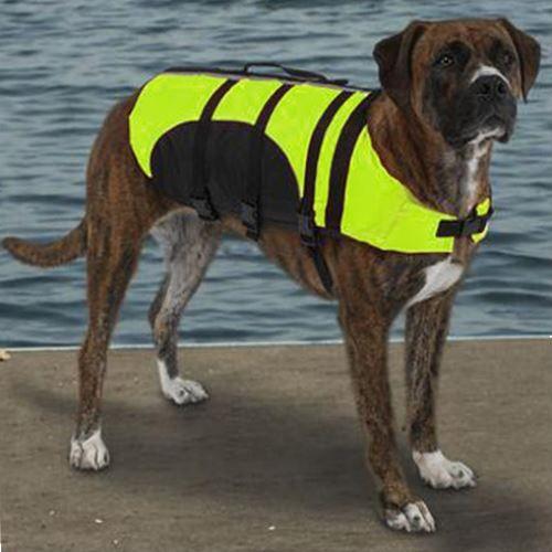Yellow Dog Life Jacket Small Size Dog Life Dog Life Vest Dogs